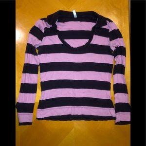 🦋 Old Navy Purple Striped Shirt🦋